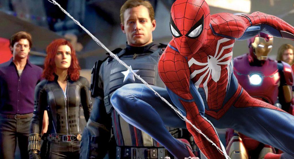 Los Vengadores de Marvel Spidermen