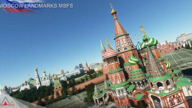 Photo of Microsoft Flight Simulator – Complemento hermoso paisaje de Moscú lanzado por Drzewiecki Design