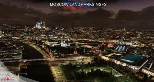 Microsoft Flight Simulator Moscú (1)