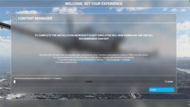 Photo of Microsoft Flight Simulator (MSFS) 2020: corrección de la pantalla de barra azul