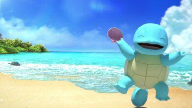Photo of Mira cómo Squirtle se divierte en la playa en este video oficial de Pokémon de ASMR
