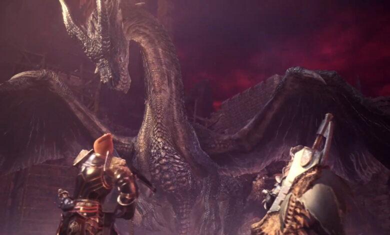 Monster Hunter World termina pronto: la actualización final trae los favoritos especiales de los fanáticos
