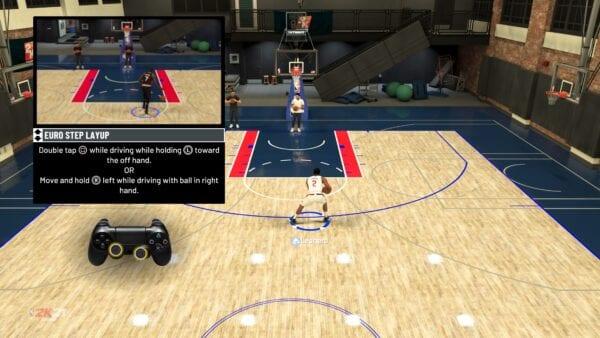 NBA 2K21 Euro etapa