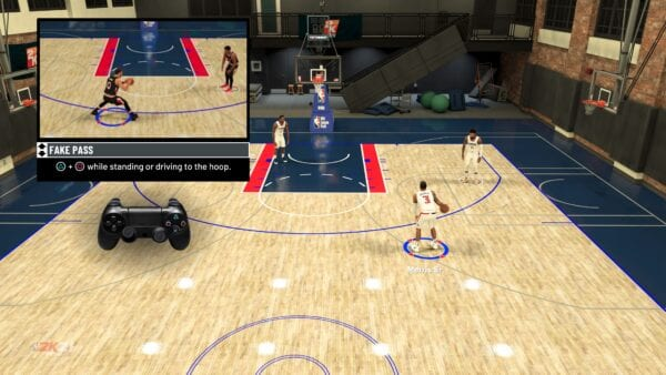 Pase falso NBA 2k21