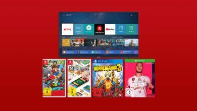 Ofertas de MediaMarkt en el folleto: ofertas de juegos y Hisense 4K TV