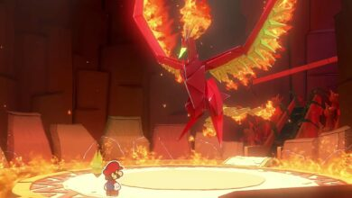 Photo of Paper Mario Origami King: Cómo vencer a Fire Vellumental Boss Battle