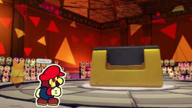 Photo of Paper Mario Origami King: Cómo vencer a Hole Punch Boss Battle