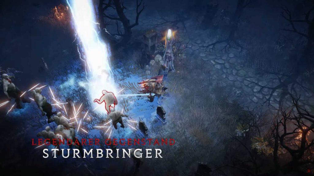 Diablo inmortal Barbar Stormbringer