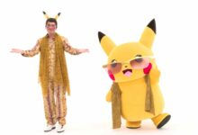 Photo of Pikachu colabora con la superestrella japonesa Pikotaro para un video musical extraño