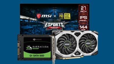 SSD económico, monitor de juegos MSI al mejor precio y más en Cyberport