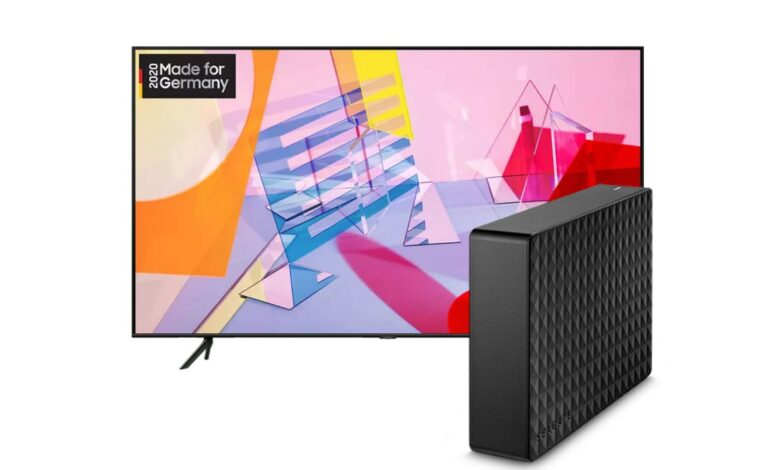 Samsung QLED TV, disco duro externo y más en Saturn reducido