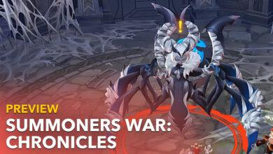 Summoners War: Chronicles quiere ser el nuevo MMORPG móvil para ti