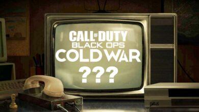 Una televisión de los 80 ahora está provocando información sobre Call of Duty 2020