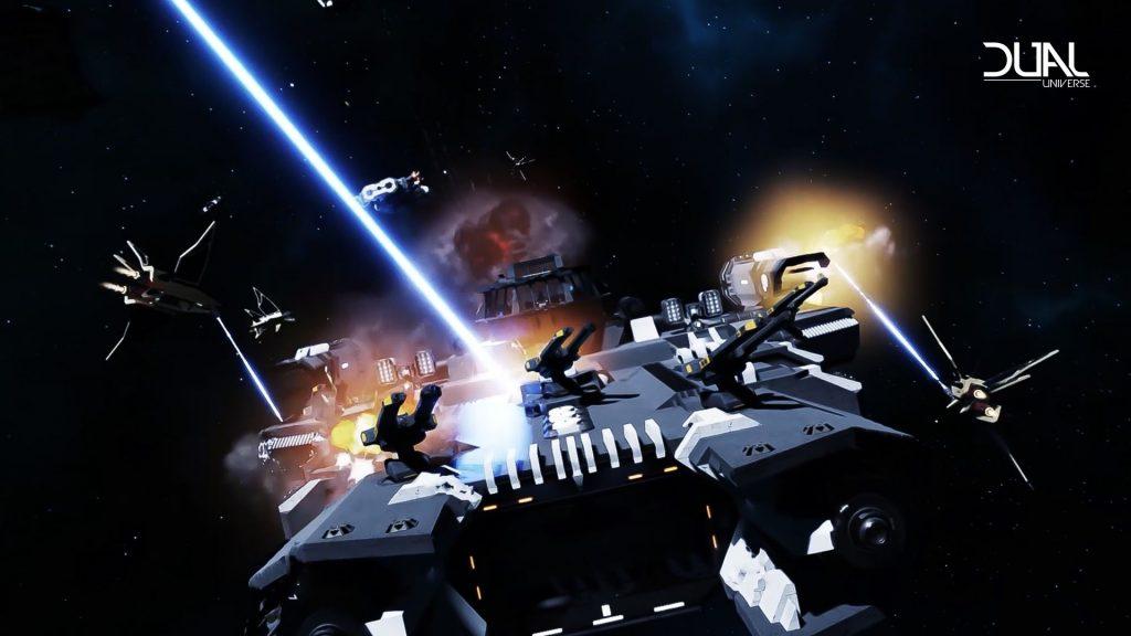 Batalla espacial del universo dual