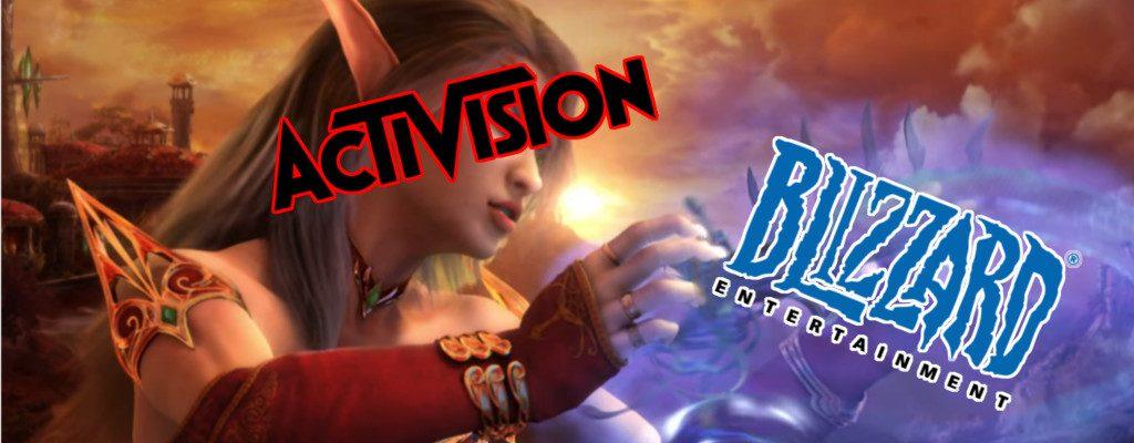 Título de Activision Draining Blizzard
