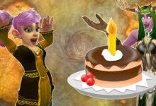 WoW Gnome Cheer Cake Birthday titel title 1280x720