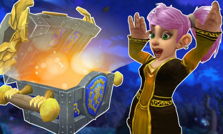 """WoW Shadowlands: así es como funciona la """"Gran Bóveda"""", la nueva caja de recompensas"""