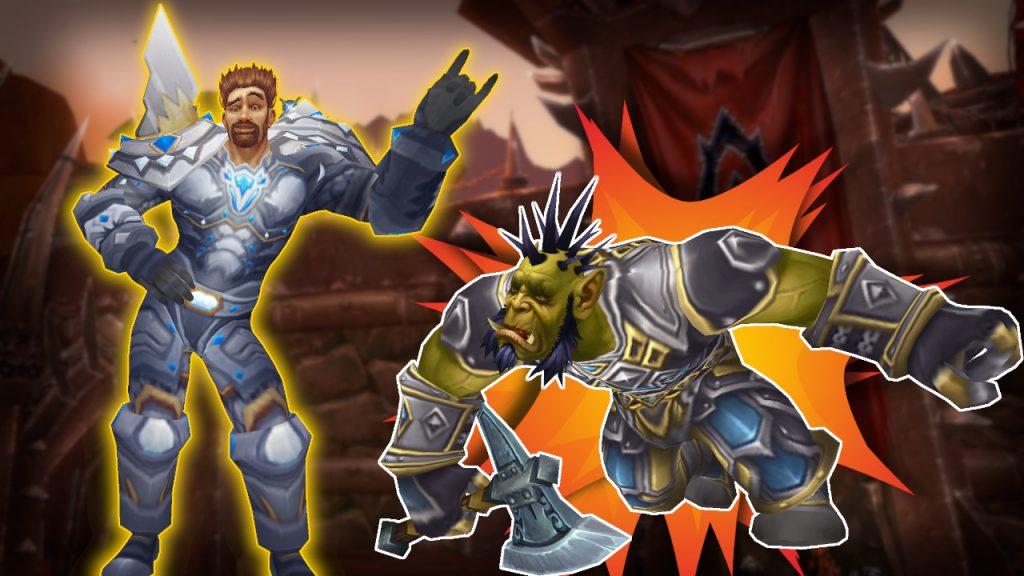 WoW Paladin Orc Death Explosion título título 1280x720