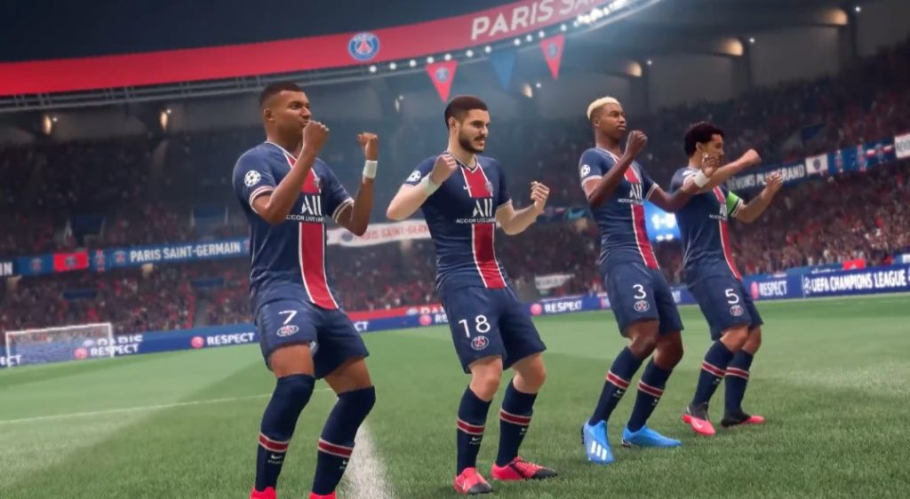 FIFA 21 aplausos