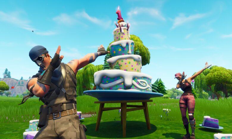 ¿Dónde están los pasteles de cumpleaños en Fortnite? Tienes que bailar en estos lugares