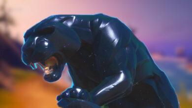 Los jugadores usan la nueva estatua de la Pantera Negra de Fortnite como un monumento a Chadwick Boseman