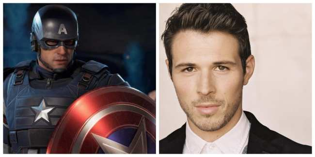 Jeff Schine - Capitán América / Steve Rogers
