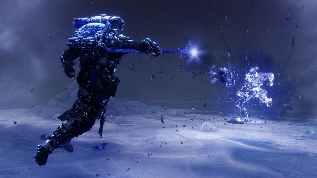 Warlock Shadebender Super Ice Stasis Destiny 2 Título