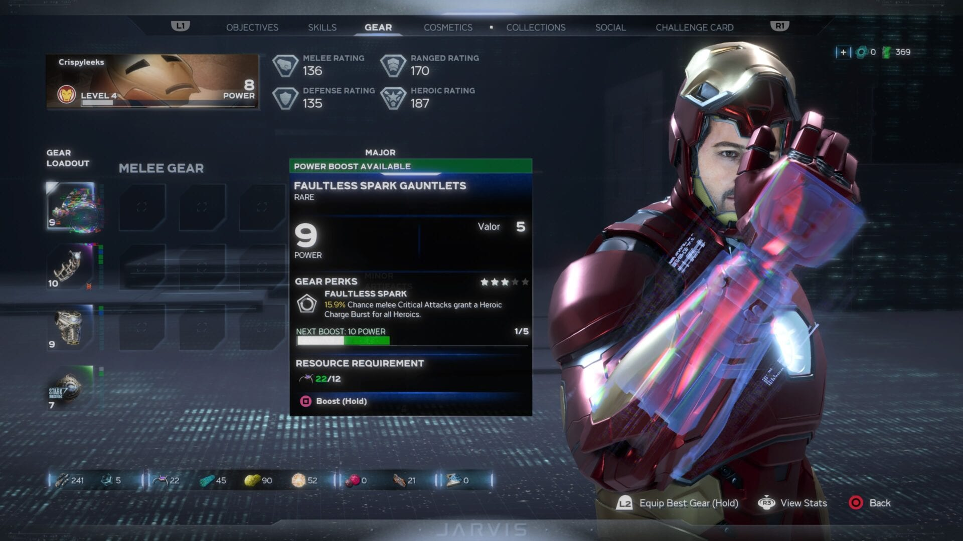 Boost Gear Marvel's Avengers