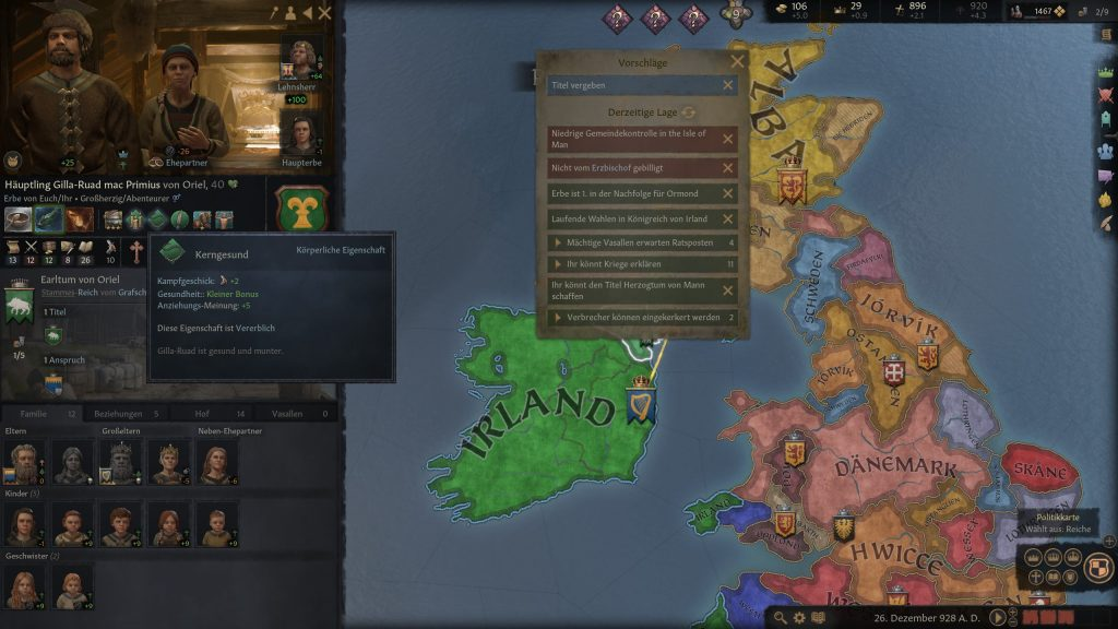 Crusader Kings 3 Gran Reina