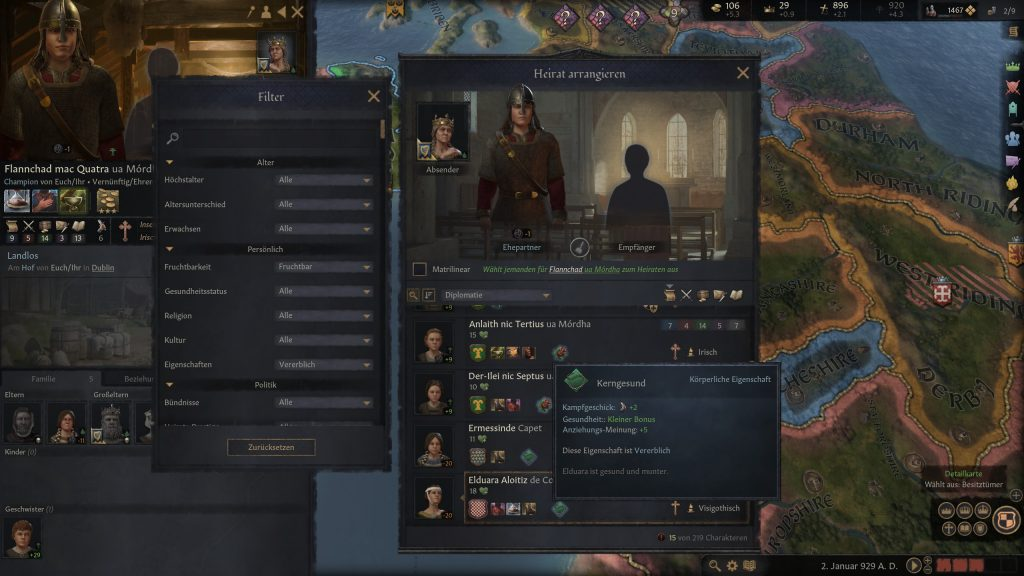 Crusader Kings 3 ventajas