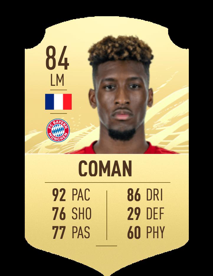 FIFA 20 Coman