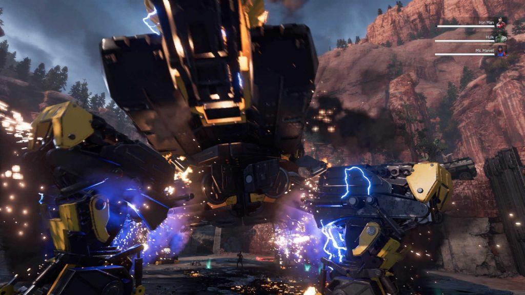 maravillas avengers monster machine nivel de jefe