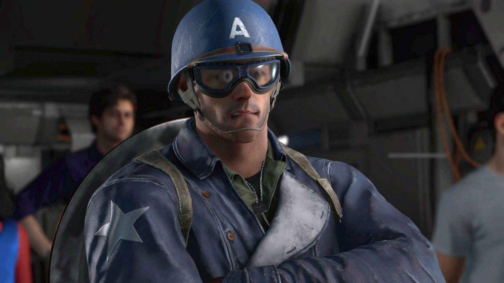 maravillas avengers error capitan america vista