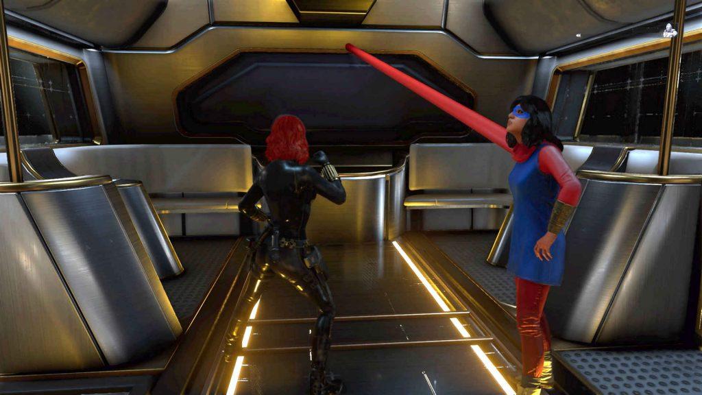 maravillas avengers heroes bug ms maravilla brazo largo de la ley nuevas