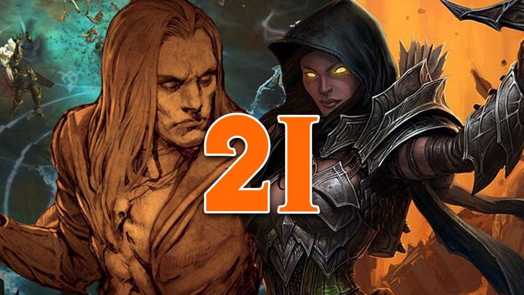 Título de nigromante de cazador de demonios de la temporada 21 de Diablo 3