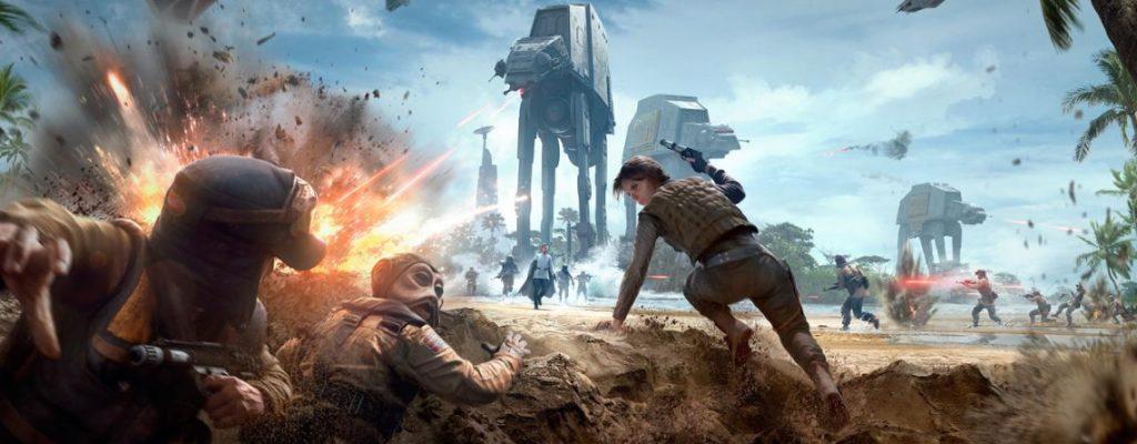 Star Wars Battlefront 2 Scarif historia principal
