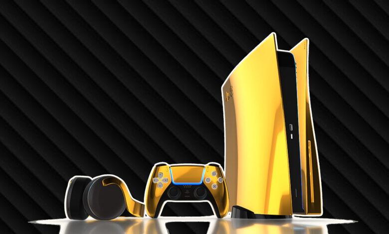 Si quieres demostrar que eres mejor: Compra una PS5 Gold por 9.000 €
