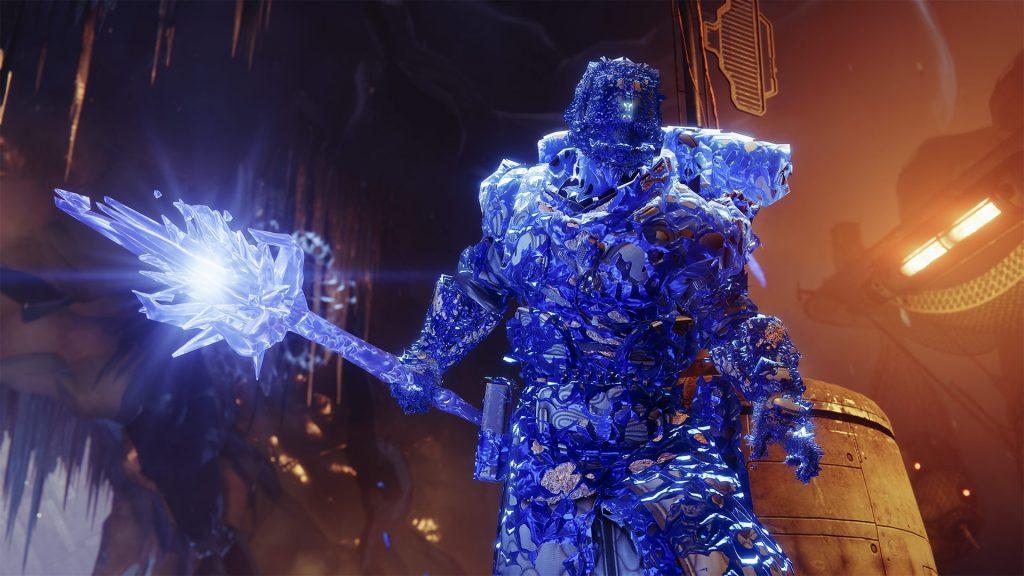 Warlock Stasis Shadow Binder Shade Stab Título Destiny 2