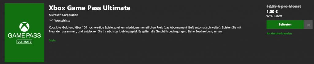 Comprar Xbox Game Pass Ultimate