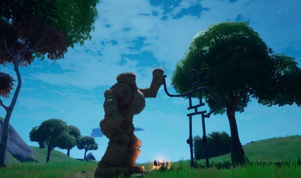 Emita como Groot en un Monumento a la Amistad en Fortnite