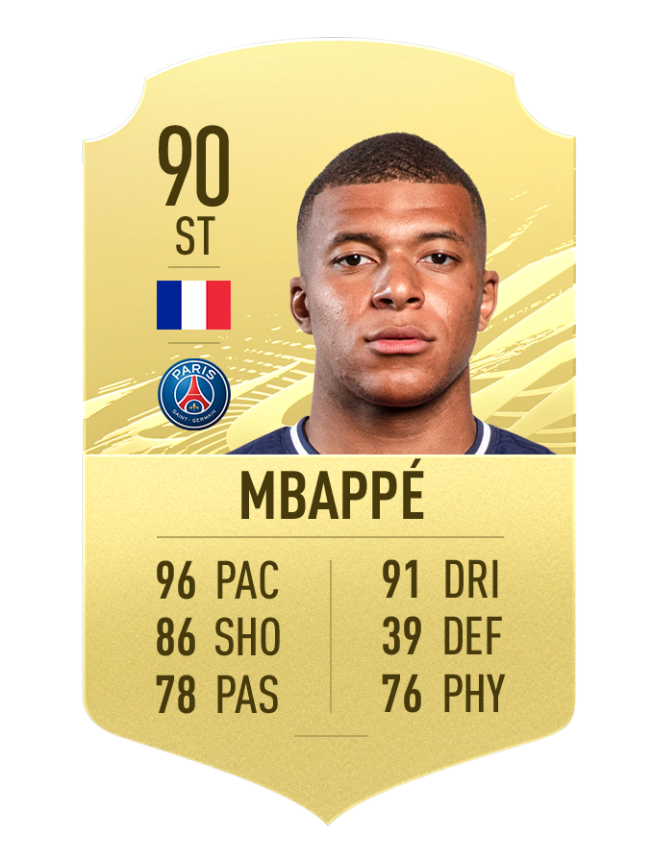 Mbappé FIFA 21