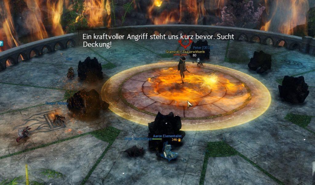 Meteorito fractal de Guild Wars 2