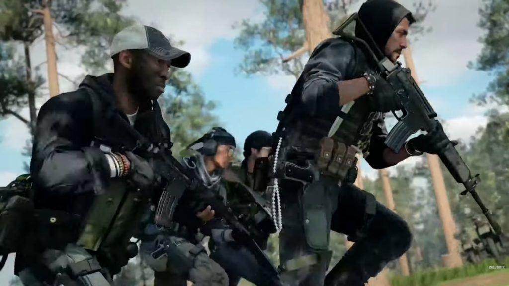 Título de Call of Duty Black Ops Cold War Firetem