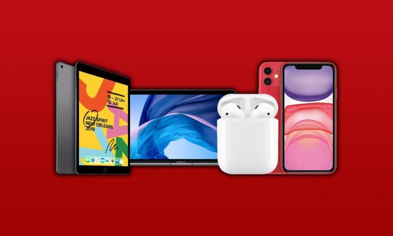 Fin de semana de Apple en MediaMarkt: AirPods, iPhone y iPad en oferta
