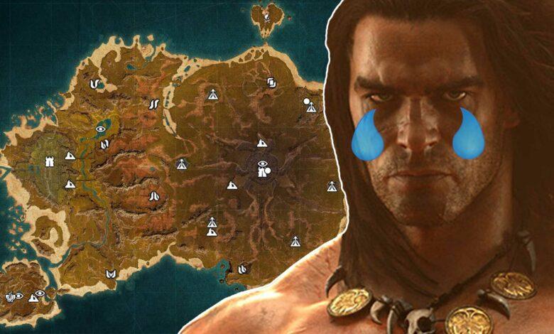 El nuevo mapa de Conan Exiles falla en Steam, por eso