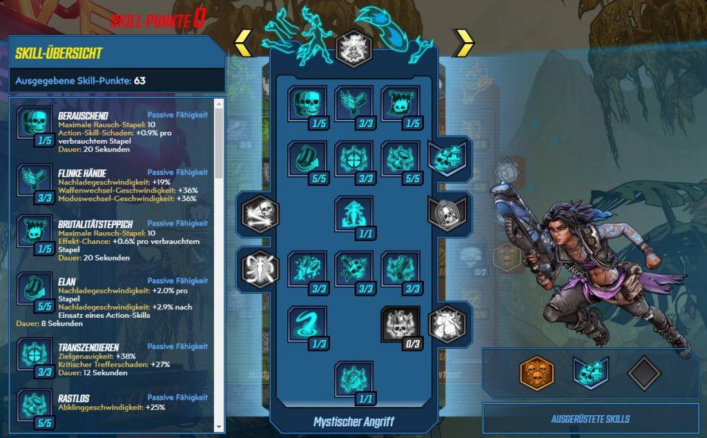 Borderlands 3 Nivel 65 Build Amara Mystical Attack