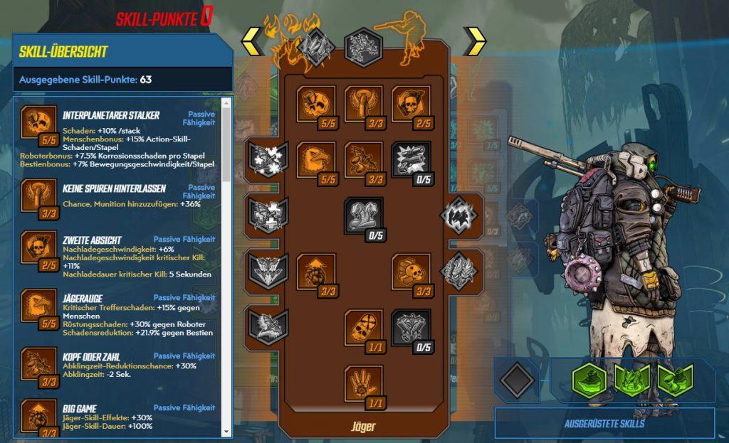 Borderlands 3 Nivel 65 Build FL4K Hunter