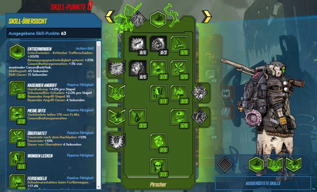 Borderlands 3 Nivel 65 Build FL4K Stalker