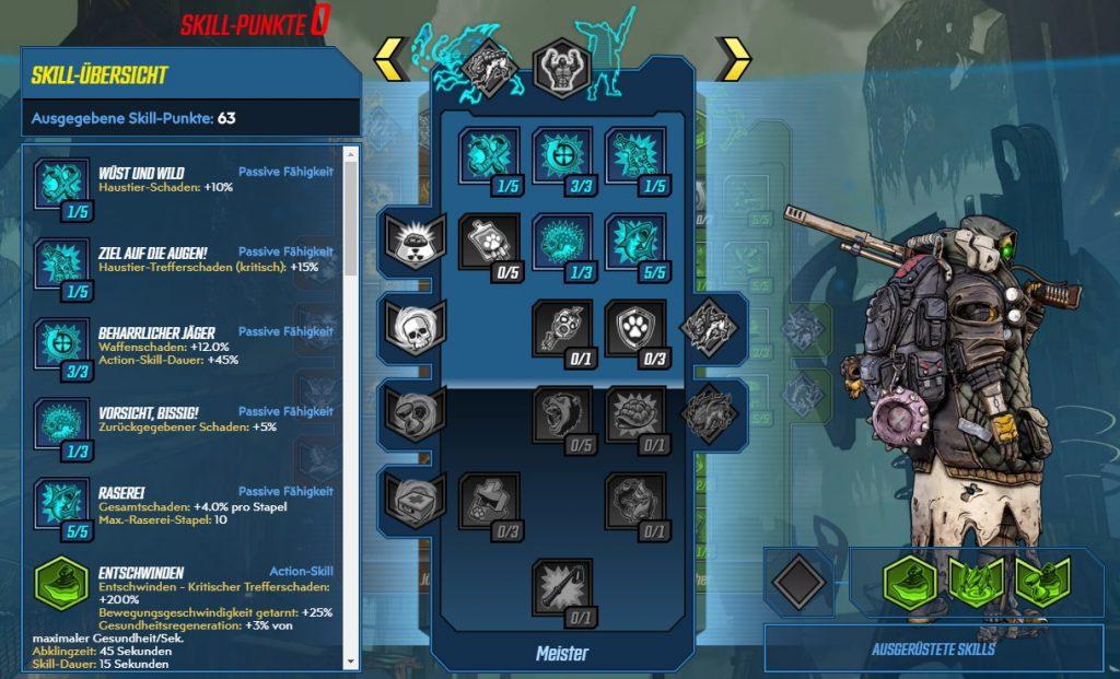 Borderlands 3 Nivel 65 Build FL4K Master