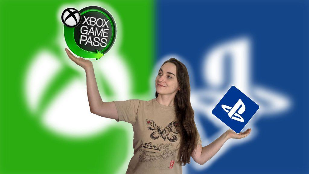 """Game-Pass-vs-PS-Leya """"class ="""" wp-image-546143 """"srcset ="""" https://images.mein-mmo.de/medien/2020/09/Game-Pass-vs-PS-Leya- 1024x576.jpg 1024w, https://images.mein-mmo.de/medien/2020/09/Game-Pass-vs-PS-Leya-300x169.jpg 300w, https://images.mein-mmo.de/ medien / 2020/09 / Game-Pass-vs-PS-Leya-150x84.jpg 150w, https://images.mein-mmo.de/medien/2020/09/Game-Pass-vs-PS-Leya-768x432 .jpg 768w, https://images.mein-mmo.de/medien/2020/09/Game-Pass-vs-PS-Leya-1536x864.jpg 1536w, https://images.mein-mmo.de/medien /2020/09/Game-Pass-vs-PS-Leya-780x438.jpg 780w, https://images.mein-mmo.de/medien/2020/09/Game-Pass-vs-PS-Leya.jpg 1920w """"tamaños ="""" (ancho máximo: 1024px) 100vw, 1024px """"> Para nuestra editora Leya, el Xbox Game Pass es decisivo para Xbox Series X vs. PS5.     <p>La idea de Game Pass en la PS5 es definitivamente emocionante. Después de todo, para la editora de DLPrivateServer, Leya Jankowski, es incluso una razón decisiva para elegir la nueva Xbox Series X sobre la PS5. </p> <p>La oferta es realmente fuerte desde su punto de vista y mejorará aún más con el crecimiento de EA a lo largo de la temporada navideña 2020. </p> <p>Con algunos trucos también puedes ahorrar mucho dinero con el Game Pass:</p> <p>Cuidado, no pagues solo $ 10 por Xbox Game Pass, casi cometo el error</p> <!-- AI CONTENT END 1 -->   </div><!-- .entry-content /-->  <div id="""